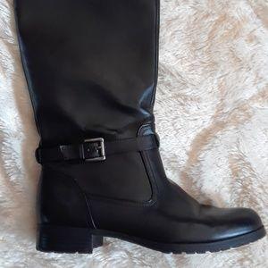 Chaps Black Riding Boot size 8